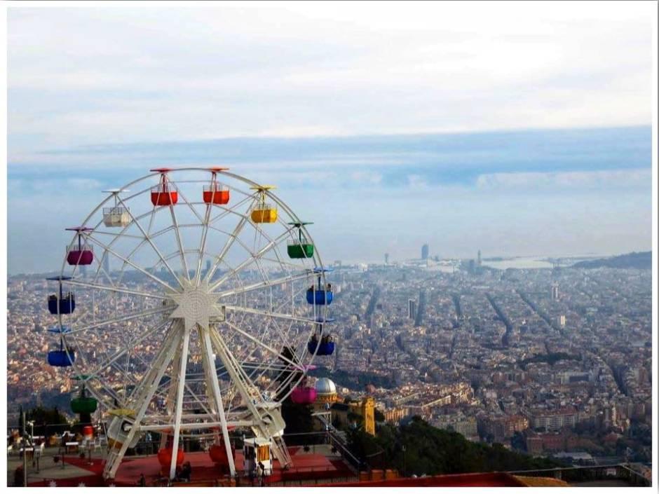 Tibidabo Skywalk Barcelona