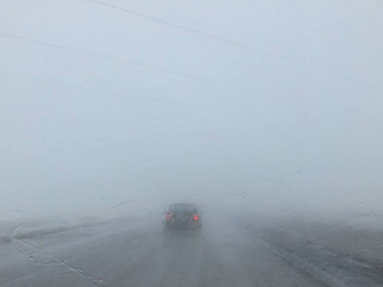 Iceland Route 1 Fog