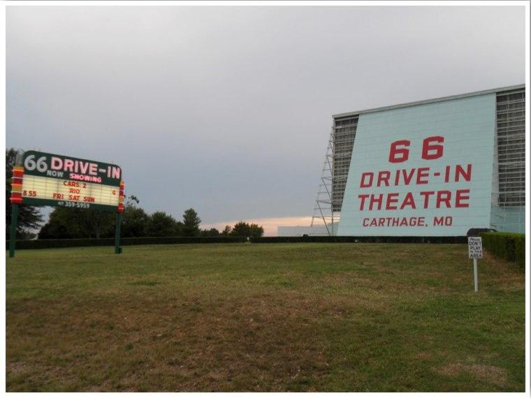 Route 66 Drive In Theatre Carthage Missouri