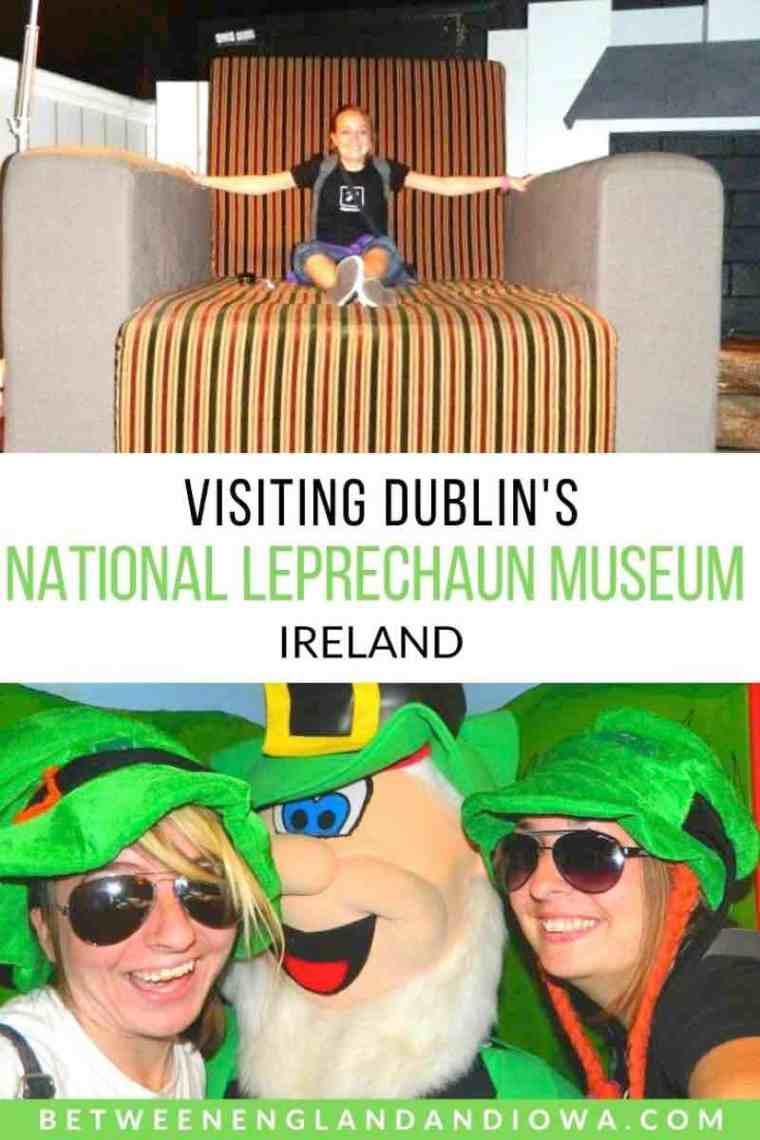 Visiting Dublin's National Leprechaun Museum Ireland