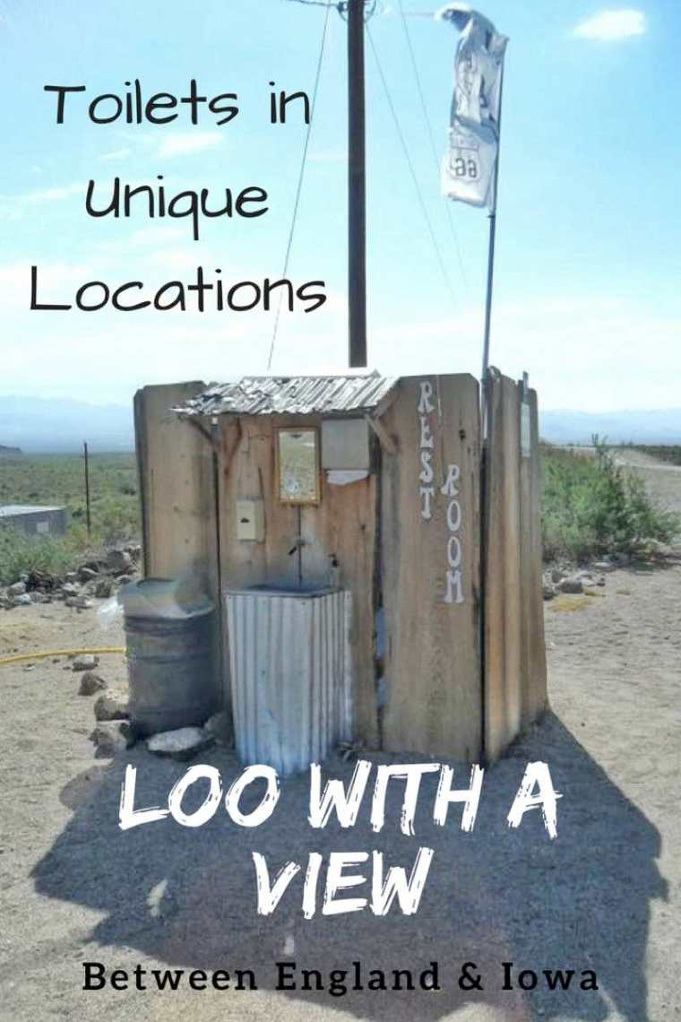 Loo With A View.  Toilets in Unique Locations Around the World