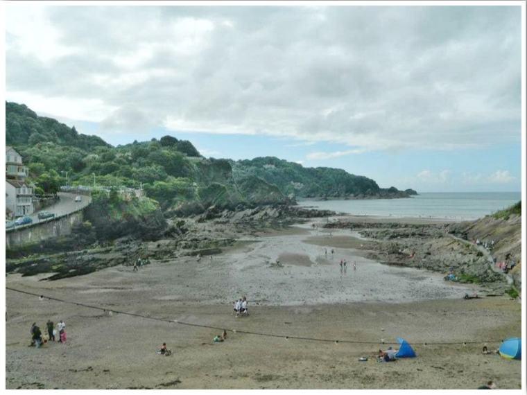 North Devon Combe Martin Beach