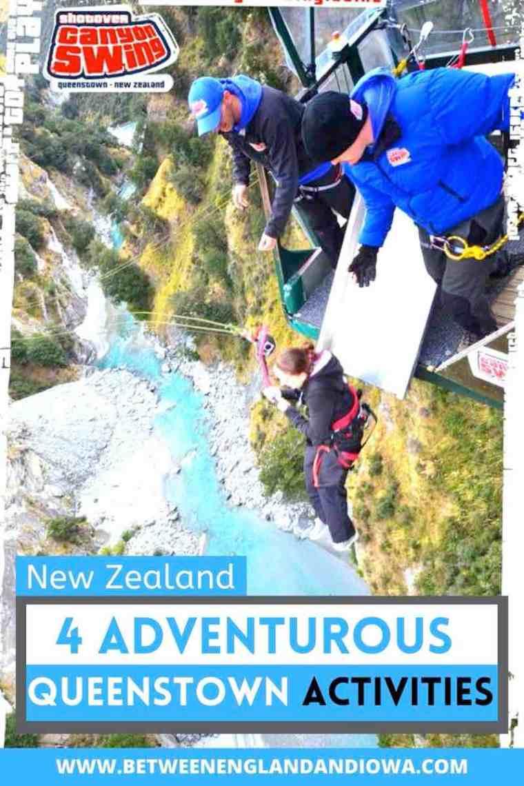 Unmissable Adventurous Queenstown Activities New Zealand