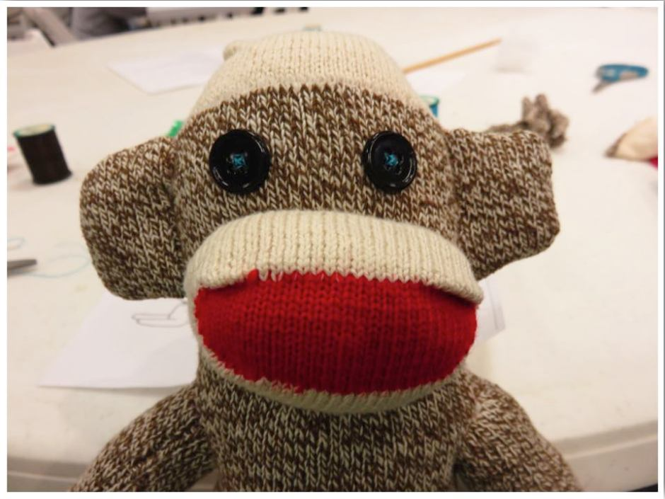 Sock Monkey Rockford Illinois