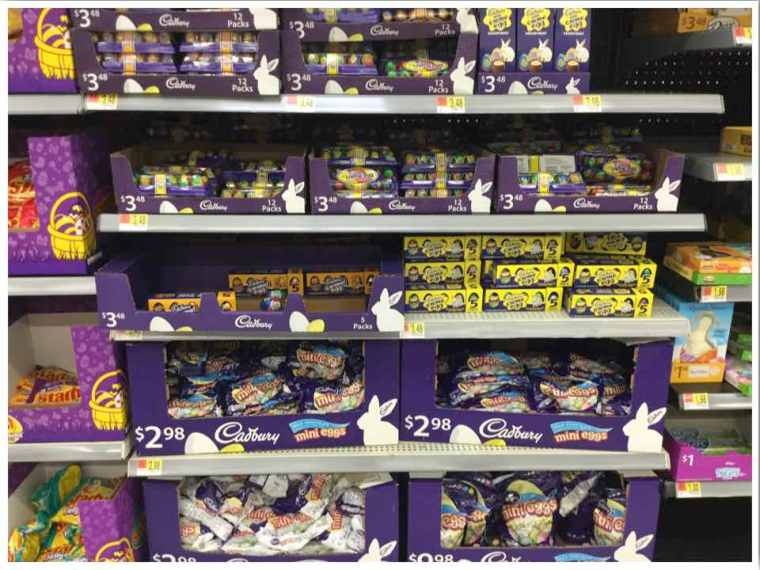 Walmart Cadbury's Mini Eggs