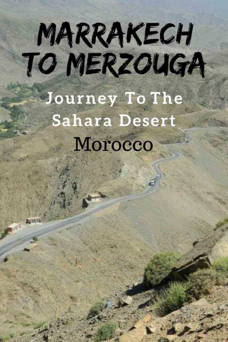 Marrakech Desert Trips - Marrakech to Merzouga Erg Chebbi Morocco