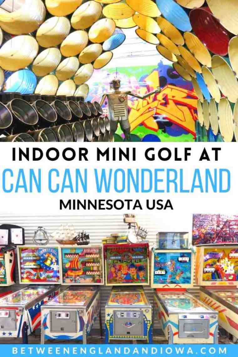 Can Can Wonderland Mini Golf in Minnesota USA