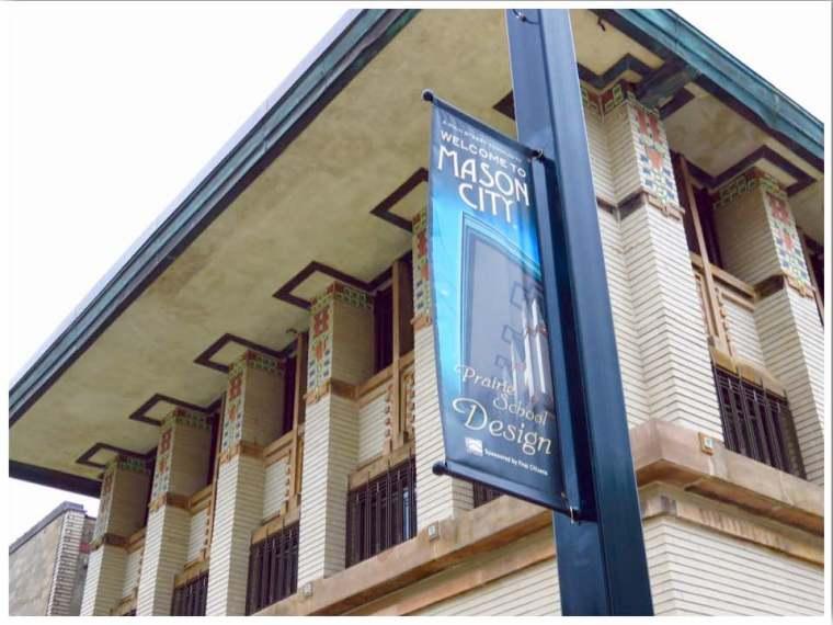 Frank Lloyd Wright Hotel Mason City Iowa
