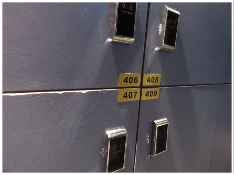 Capsule Hotel Sydney Lockers