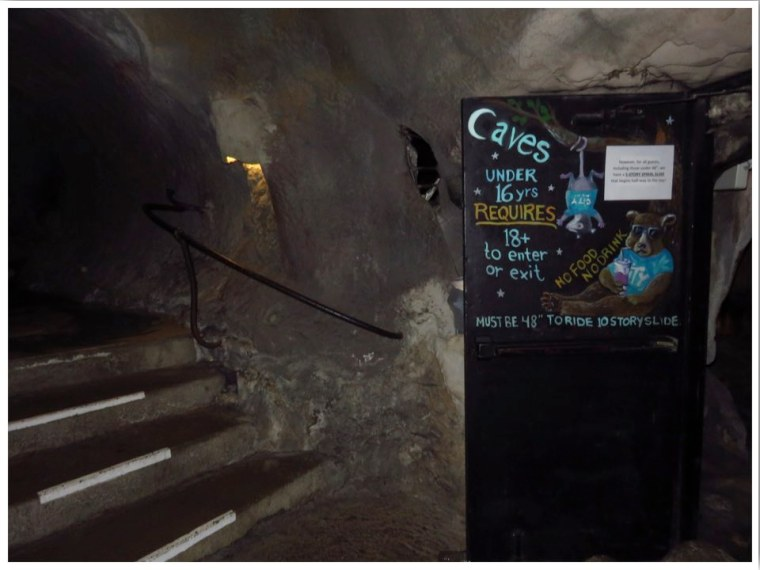 City Museum Caves