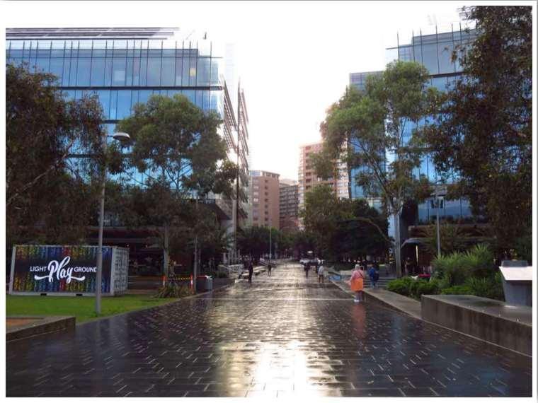Winter in Australia Rainy Sydney
