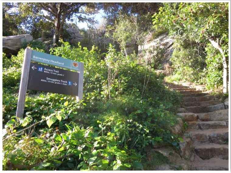Barrenjoey Lighthouse Walk Trails Sydney Australia