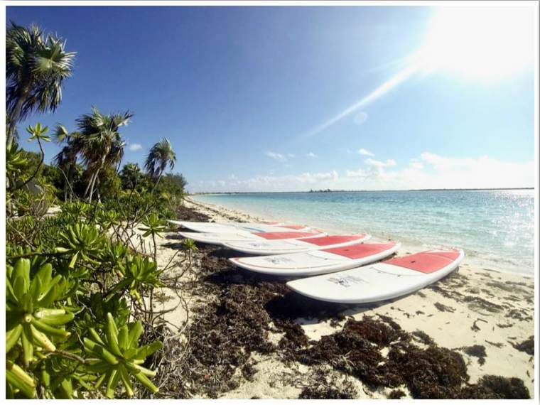 Turks and Caicos Providenciales Stand Up Paddle Boarding