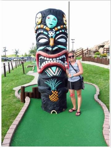 Lost Island Mini Golf Waterloo Iowa