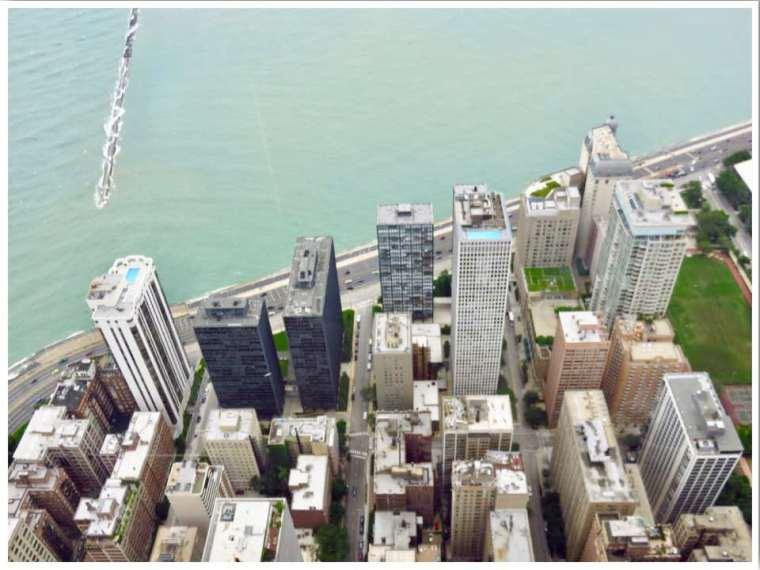 Views from John Hancock 360 Chicago