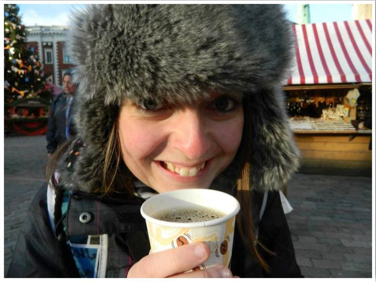 Riga Christmas Markets Hot Beer