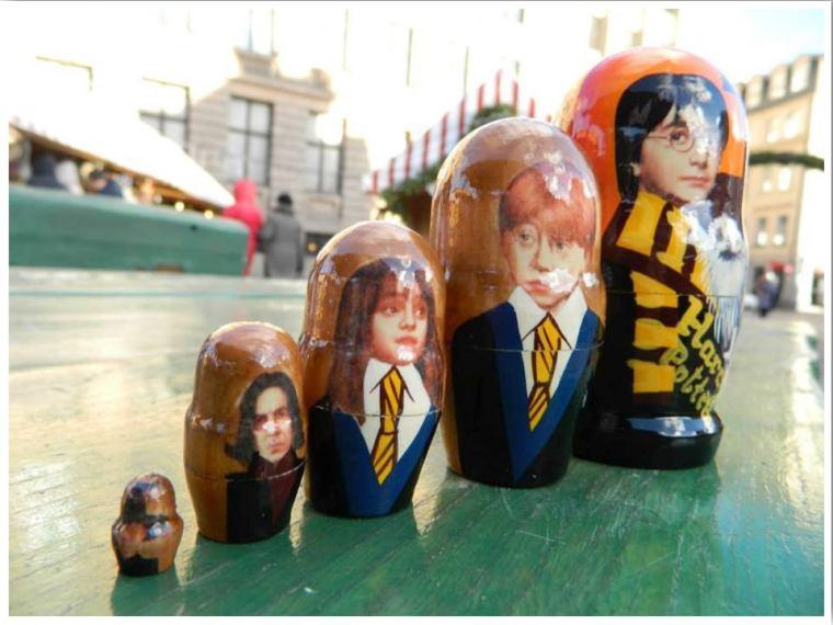 Riga Markets Russian Nesting Dolls