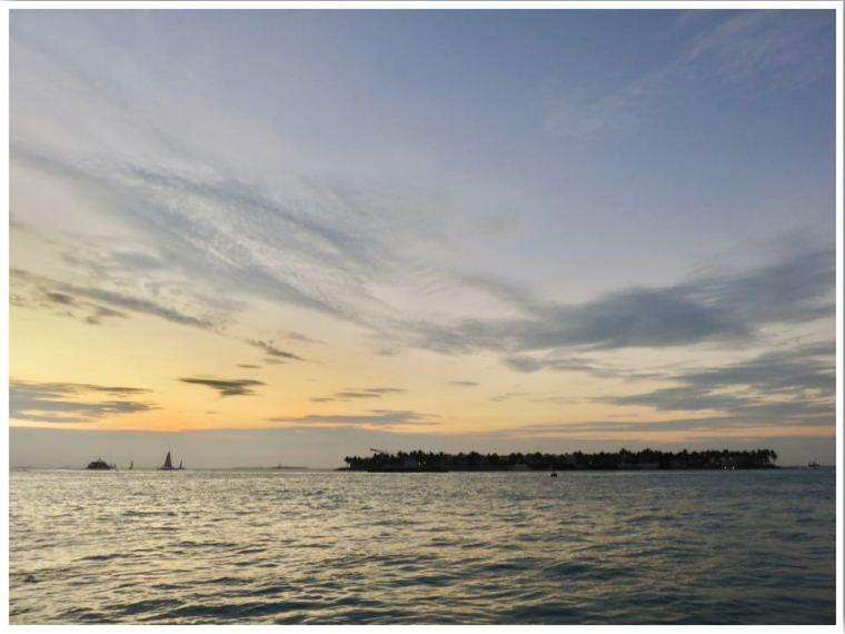 Key West Sunset in December