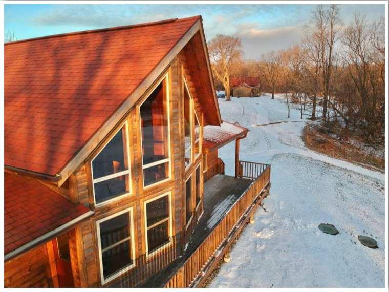 Red Cedar Lodge Cabin External