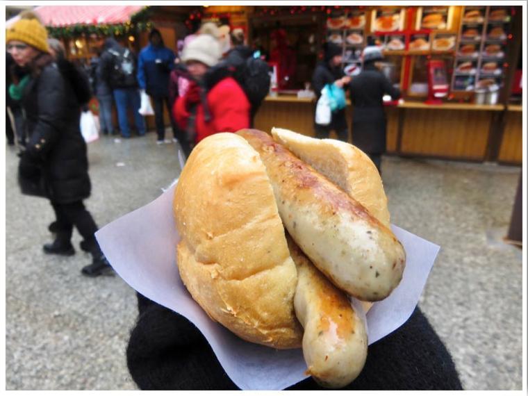 Christkindlmarket Chicago German Sausage