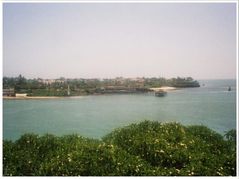 Mombasa Kenya view from Fort Jesus
