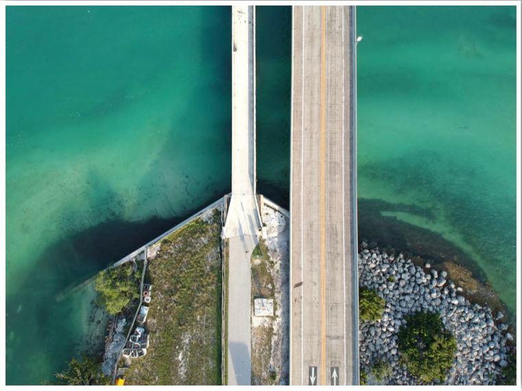 Marathon to Key West Florida Seven Mile Bridge
