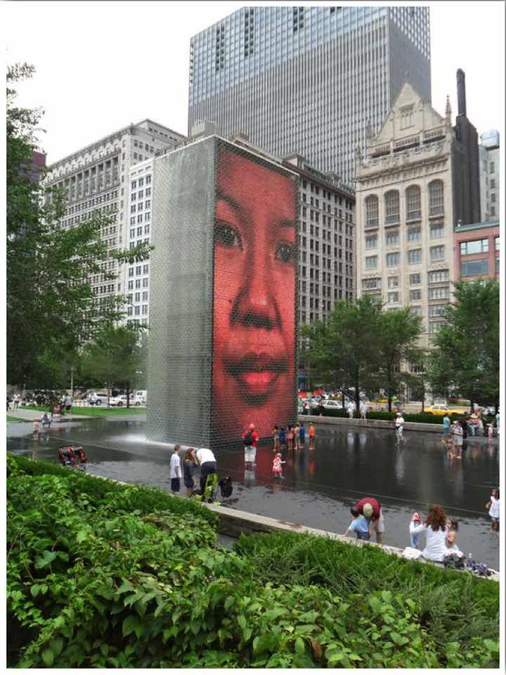 Chicago Crown Fountain