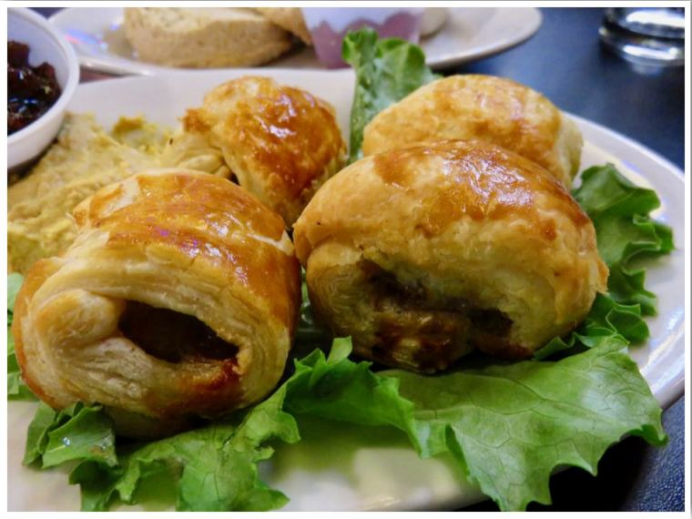 Sausage Rolls at the Mucky Duck Ames IA