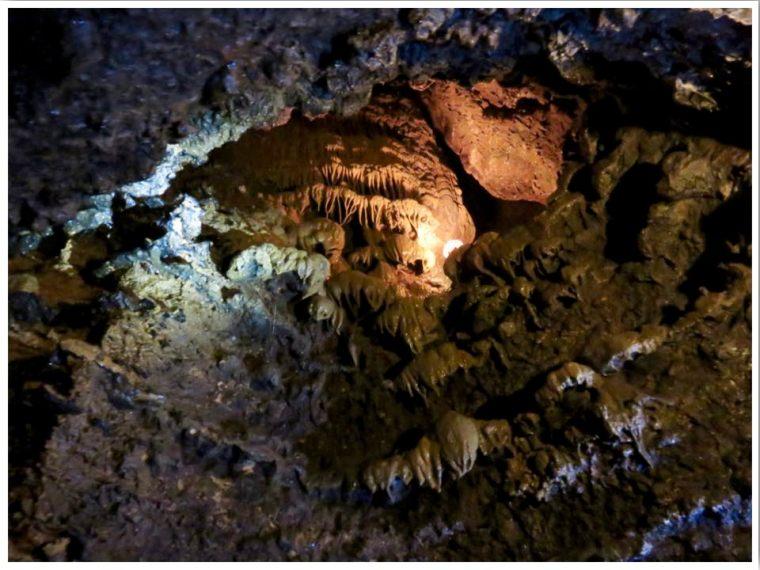 Spook Cave Frozen Waterfall