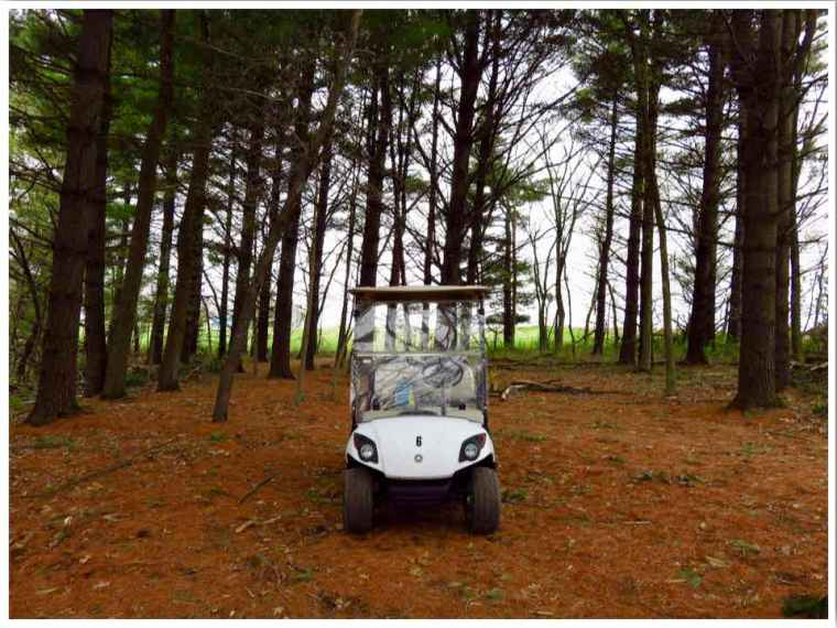 Spook Cave Campground Golf Cart