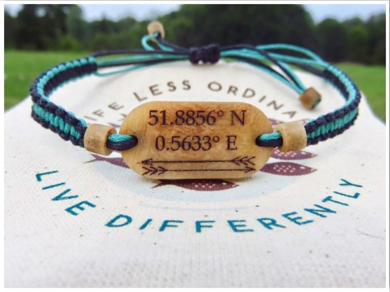 Coordinates Bracelets
