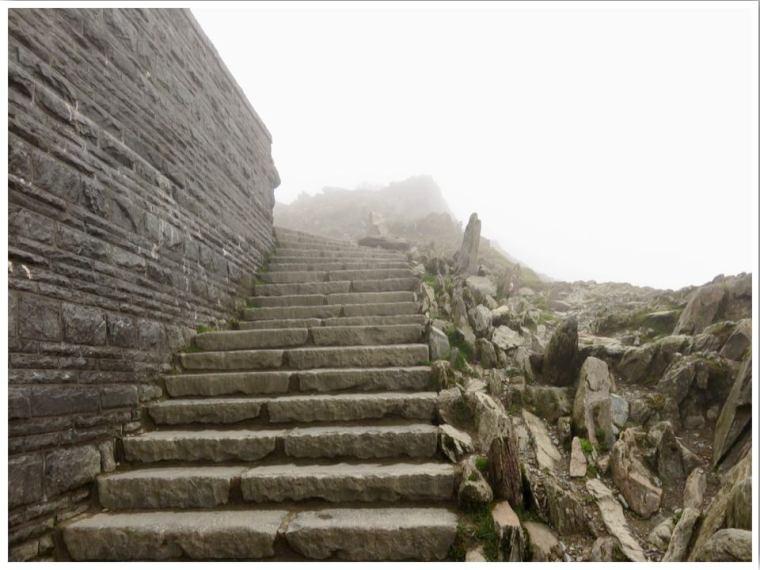Path to Snowdon Summit
