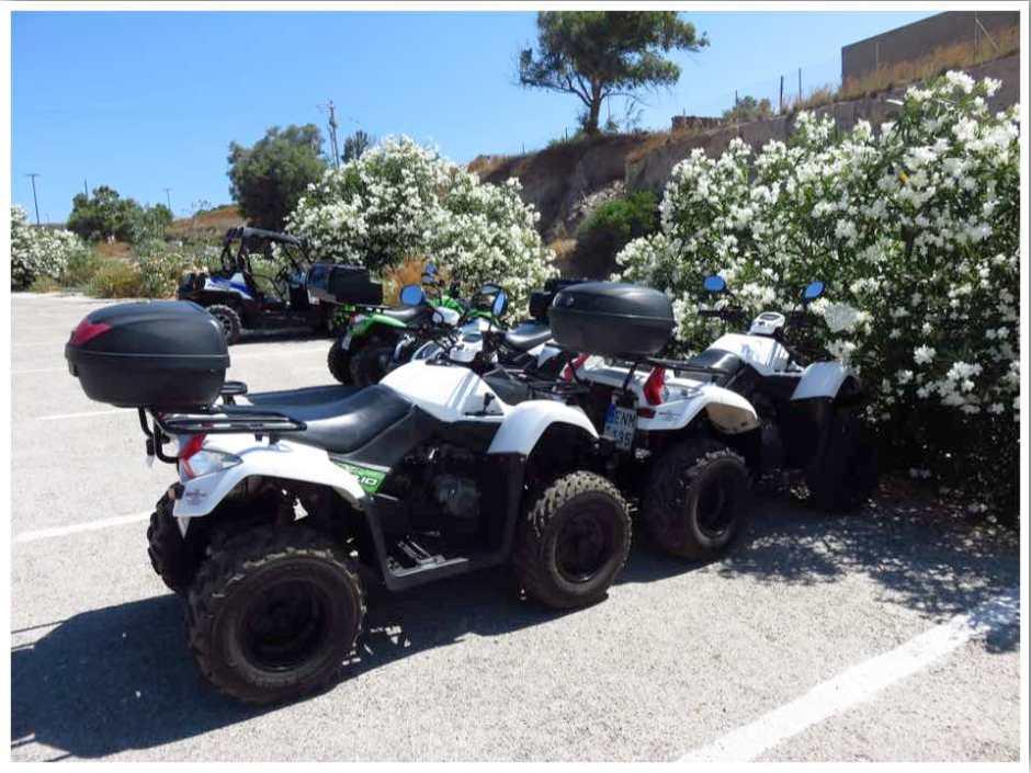 Quad Rental Santorini