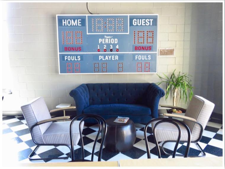 Hotel Grinnell Score Board