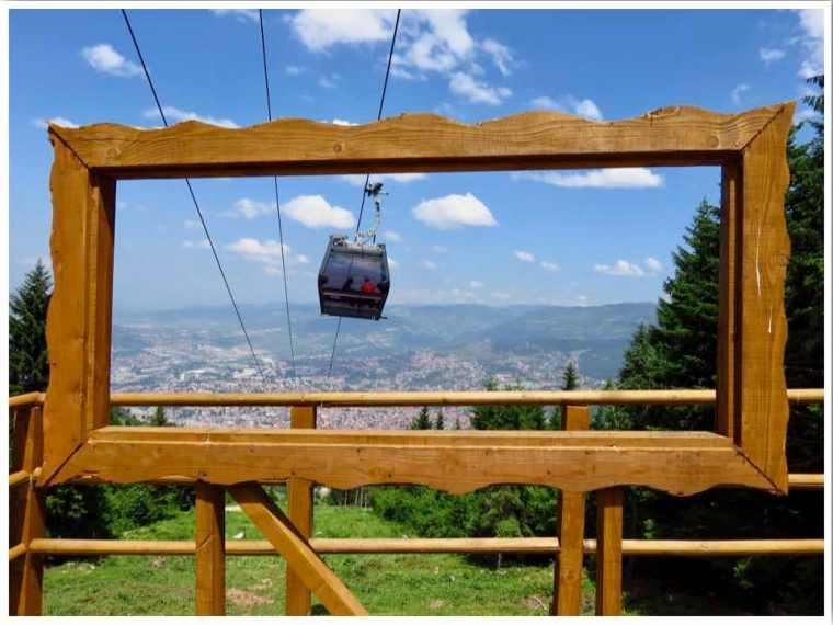 Sarajevo Bobsled Track Cable Car