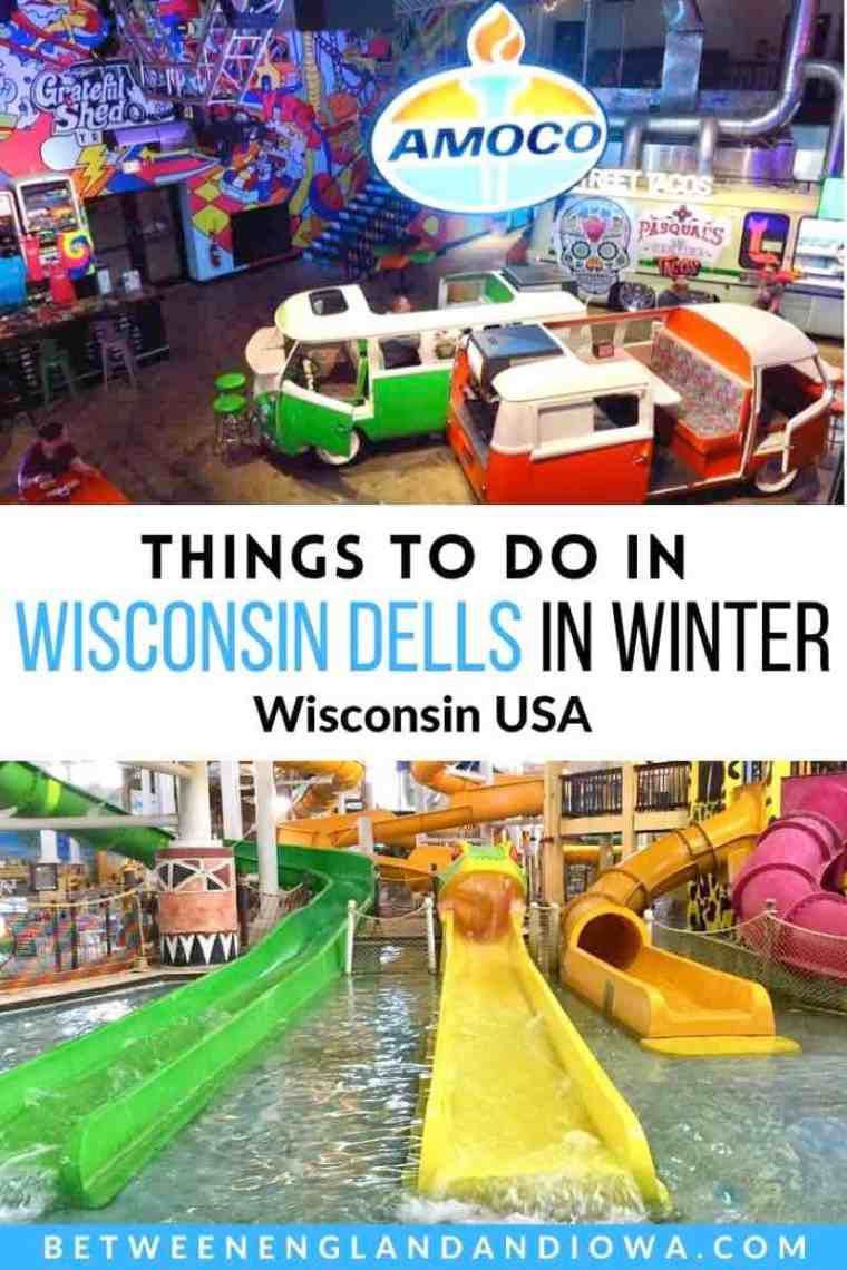 Things to do in Wisconsin Dells in Winter, Wisconsin USA