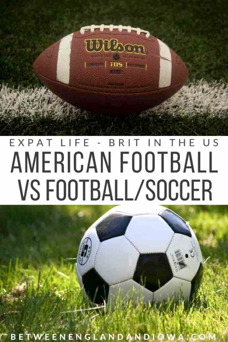 Soccer vs Football. A Brit in the US trying to understand American Football!