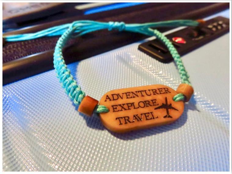 Life Less Ordinary Personalised Location Bracelet