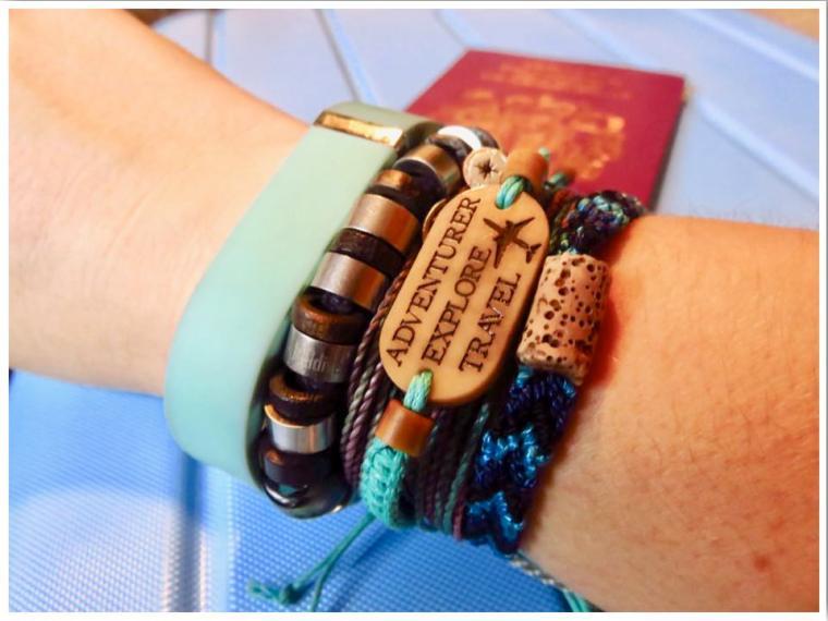 Location Bracelets by Life Less Ordinary