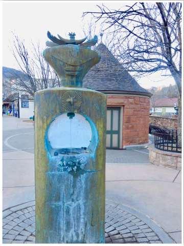 Manitou Springs Cheyenne Spring Water Colorado