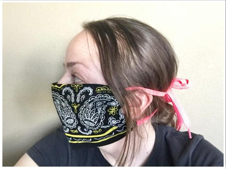 How to make a cloth face mask