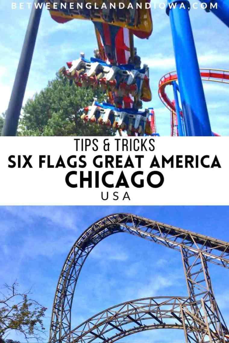 Six Flags Great America Gurnee Illinois USA