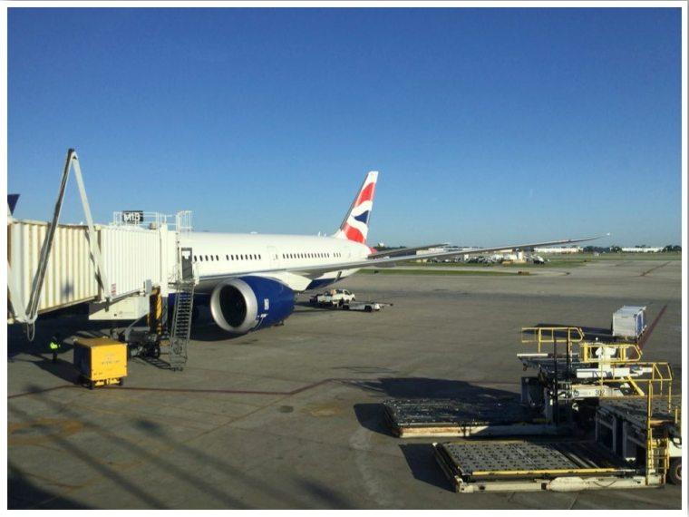 British Airways BA0296 Chicago O'hare to London Heathrow
