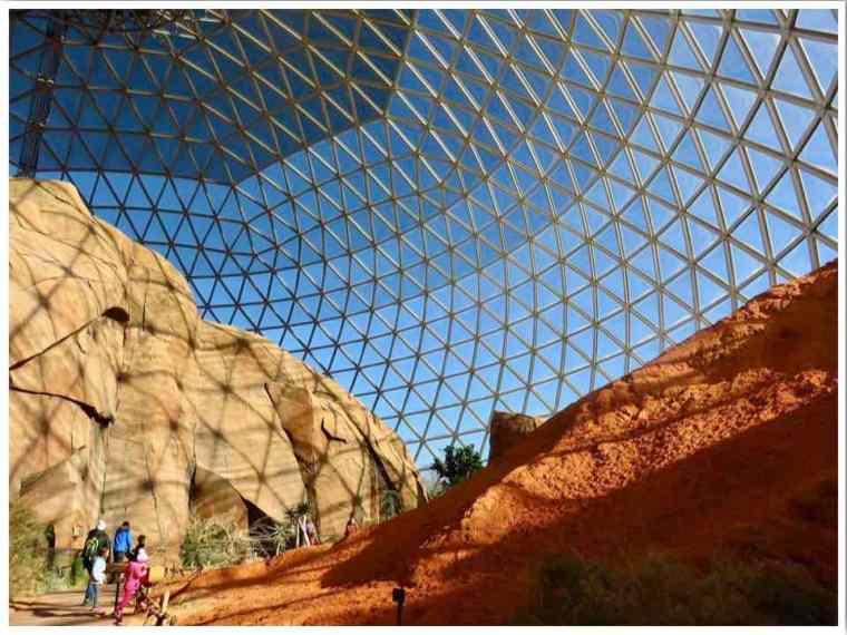 Desert Dome at Omaha's Henry Doorly Zoo Nebraska