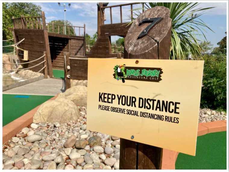 2020 miniture golf course