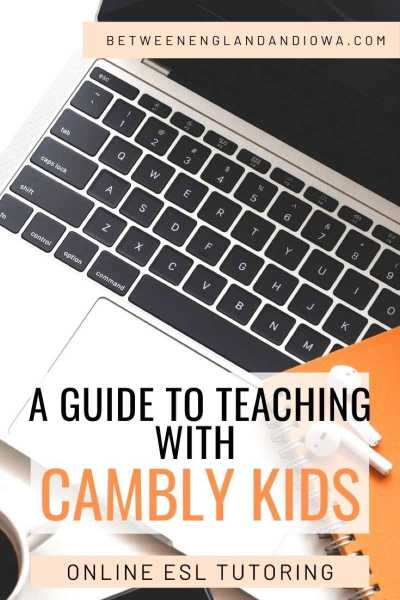 A guide to teaching English online with Cambly Kids