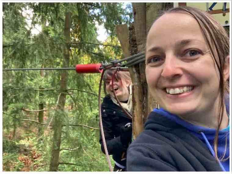Go Ape High Ropes Treetop Challenge
