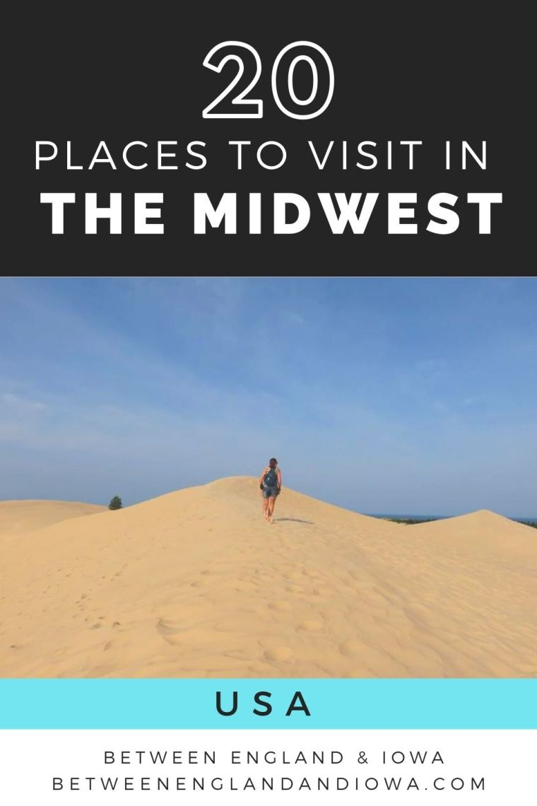 20 places to visit in the Midwest USA
