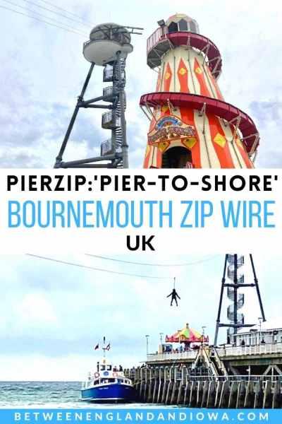 Bournemouth Zip Wire: PierZip Pier-to-Shore Zip Wire in Bournemouth UK