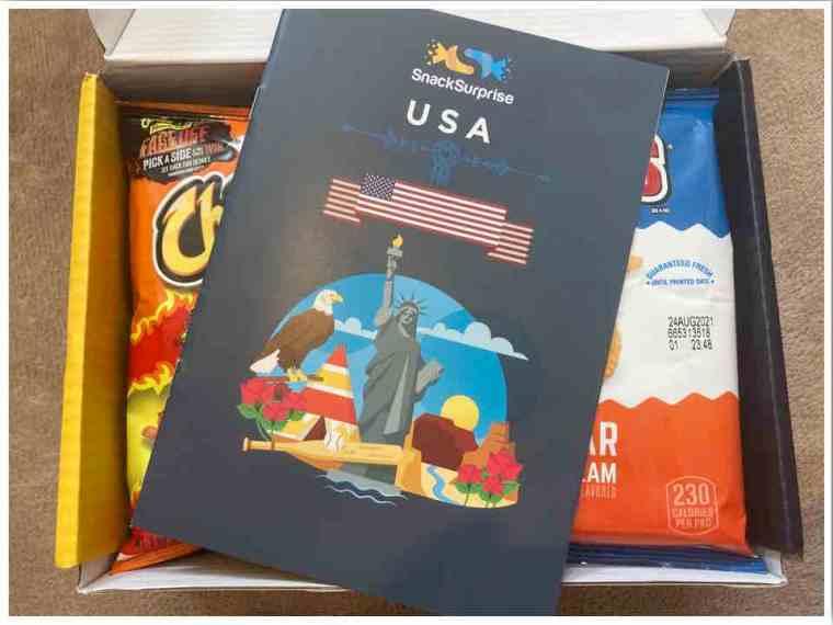 Snack Surprise Subscription Box USA